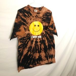Urban Outfitters Tops - Custom 'I hate you' smile T-shirt